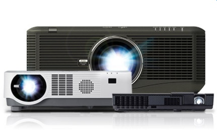 A variety or projectors