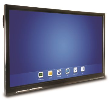 Clevertouch V-Series - interactive touchscreens entry level