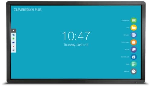 Clevertouch Plus: interactive touchscreen for schools