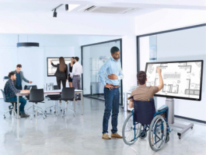 Using technology to create flexible workspaces